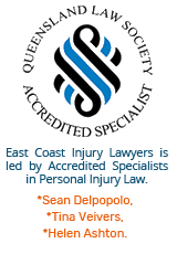 queensland accredited specialist in injury law